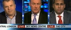 James Max on Sky News